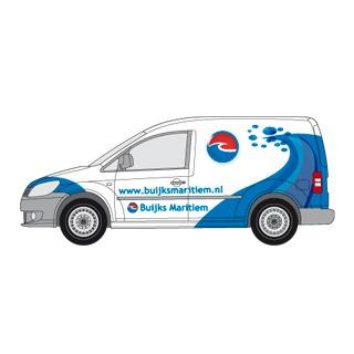 Ontwerp autoreclame volkswagen caddy voor buijks maritiem raamsdonksveer - Spotlight ontwerp ...